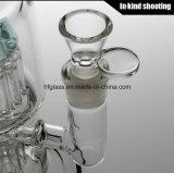 Fatto del tubo di acqua di vetro per il vetro di fumo di fumo del tubo di acqua del narghilé di Toro della vasca di gorgogliamento del tabacco di vetro di vetro del commercio all'ingrosso Bongs