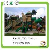 販売(TY-70291)のための新しい子供の屋外のプラスチックスライドの屋外の運動場