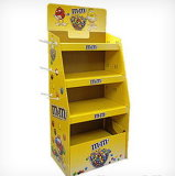 La coloration Place-Saving carton Présentoir pour Stand-Store Magazine et des cartes de voeux