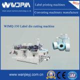 Máquina que corta con tintas de la escritura de la etiqueta automática (WJMQ-350)