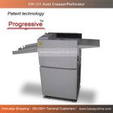 Progresista patentado revestido del papel de arte que arruga el perforador manual y Creaser de la alimentación de mano