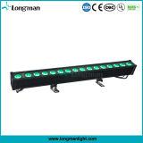 RGBW 4in1 80W 브리지 건물을%s 옥외 LED 선형 점화 벽 세탁기