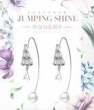 方法宝石類の方法イヤリングの純粋な銀製のイヤリングのアクセサリーのジルコンのイヤリングの真珠のペンダント