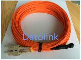 ジャンパーMTRJ/PC-MTRJ/PC mm Om1 62.5/125 Duplex 2m LSZH 2.0mm