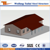Aufbau, der Stahlkonstruktion-Fertighaus-Haus konzipiert