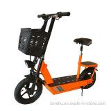 後部座席が付いている2つの車輪の二重シートの電気スクーター