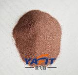 Areia da grandada do fabricante com a areia abrasiva da grandada da alta qualidade no estoque