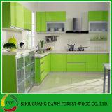 Gabinetes de cozinha simples do vácuo do PVC do estilo do projeto moderno