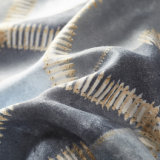 米国式の印刷された軽量のMicrofiberの羽毛布団カバーセット