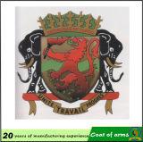 Metal su ordinazione 3D Emblem per Government Building Wall