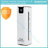 2200mAh Chargeur d'extension de la Banque d'alimentation 3G routeur Routeur WiFi avec la carte SIM La carte de TF slot