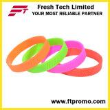 Venda por atacado OEM Company Gifts Silicone Wristband