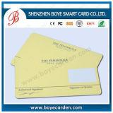 Carte RFID d'invitation de 13,56 MHz pour système de carte de carte d'hôtel