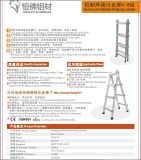 Five-Steps pliables pour les produits agricoles de l'échelle en aluminium ou de la chambre d'utiliser