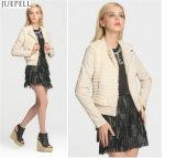 Design de mode Hommes d'hiver Manteau de fourrure Paragraphe court Ladies Veste en cuir PU Manteau de fourrure