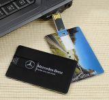 Profotional 선물 명함 USB 섬광 드라이브, 신용 카드 USB 의 신용 카드 USB 저속한 펜 드라이브 2GB 4GB 8GB 16GB