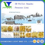 Sale chaud Autonmatic Fried Corn Flour 3D Bugles Snack Machine