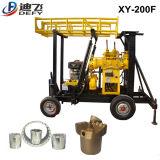 200m xy-200F de la plataforma de perforación rotativa, utiliza la máquina de perforación de pozos