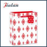 Bolsa de papel diaria laminada brillante barata del regalo de las compras del papel revestido