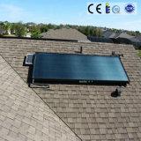 Pannello solare dell'acqua dell'aletta di alluminio di rame della conduttura