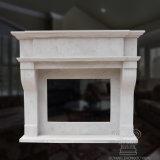 Bom lareira de mármore com multa Hand-Carved Qualidade e Estilo Simples