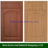As peças de mobiliário de cozinha 18mm filme de PVC com núcleo de MDF porta do armário de cozinha