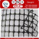 Plastic Materiaal en het Bouwmateriaal Tweeassige Geogrid van de Weg van het Type Geogrids