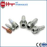 Garnitures hydrauliques de l'acier inoxydable BSPT d'embout de durites