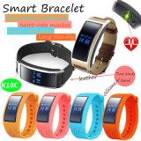Smart Bracelet avec la fréquence cardiaque et Moniteur de pression sanguine (K18C)