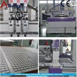 Cnc-Holzbearbeitung-Fräser-Maschine 1325 mit multi 3 Spindeln