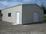 Entrepôt de sauvegarde léger préfabriqué configuré de structure métallique (KXD-122)