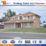 中国の標準オーストラリア様式の鉄骨構造の別荘のプレハブの家