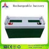 Batteria solare acida al piombo ricaricabile per il LED 12V120ah chiaro