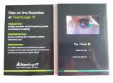 ビジネスのための4.3インチLCDスクリーンのビデオパンフレット