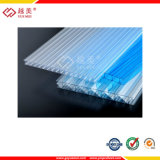 Policarbonato Clear Hollow Sheet PC Double Wall Invernadoura Roof Board