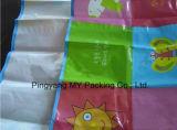 Многоразовая складная прокатанная PP сплетенная циновка пляжа