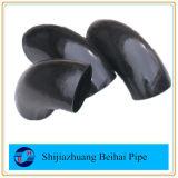 Coude soudé par bout des garnitures de pipe d'acier du carbone A420wpl6 90deg LR