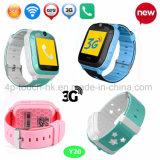 3G/WiFi SOS Criança/filhos Rastreador GPS assista com localização em tempo real Y20