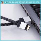 Kabel 6FT HDTV LED LCD PS4 V2.0 3D 2160p 4kx2K des Silber-HDMI 2.0