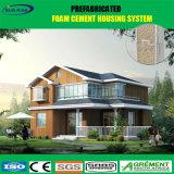 Eben konzipiertes vorfabriziertes Haus-niedrige Kosten-Solarfertighaus