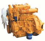 Motor diesel de la maquinaria de construcción de la marca de fábrica refrigerada por agua de Quanchai