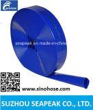 Tubo flessibile del PVC Layflat con colore blu