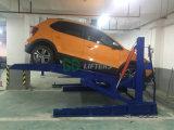 Ce тавра Gg 2 гидровлического тонны столба Двойн-Цилиндра 2 опрокидывая подъем стоянкы автомобилей автомобиля