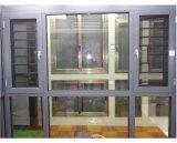 粉の上塗を施してあるアルミニウムプロフィールの開き窓のWindows (ACW-039)