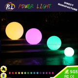 D20cm Colores RGB LED impermeable Ball