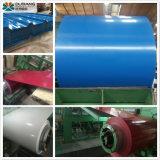 Matériau de toiture en acier de décisions de la mer PPGI bleu