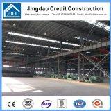 Gruppo di lavoro industriale chiaro di fabbricazione della struttura d'acciaio