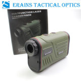 Erains Tac Optics W600s 6X22 600m Long Distance Hunting Laser Golf Range Finder Range Medição de velocidade