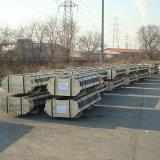 UHP/HP/Np de GrafietElektroden van de Koolstof van de Hoogste Kwaliteit van de Rang die voor de Oven van de Elektrische Boog voor Staalfabricage worden gebruikt