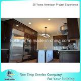 カナダおよびアメリカのプロジェクトのためのエスプレッソのシェーカー様式の純木の食器棚
